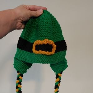 St Patrick's day inspired beanie